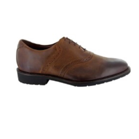 69fa60d3c464a Gorgeous Neil m men's leather lace up saddle shoe
